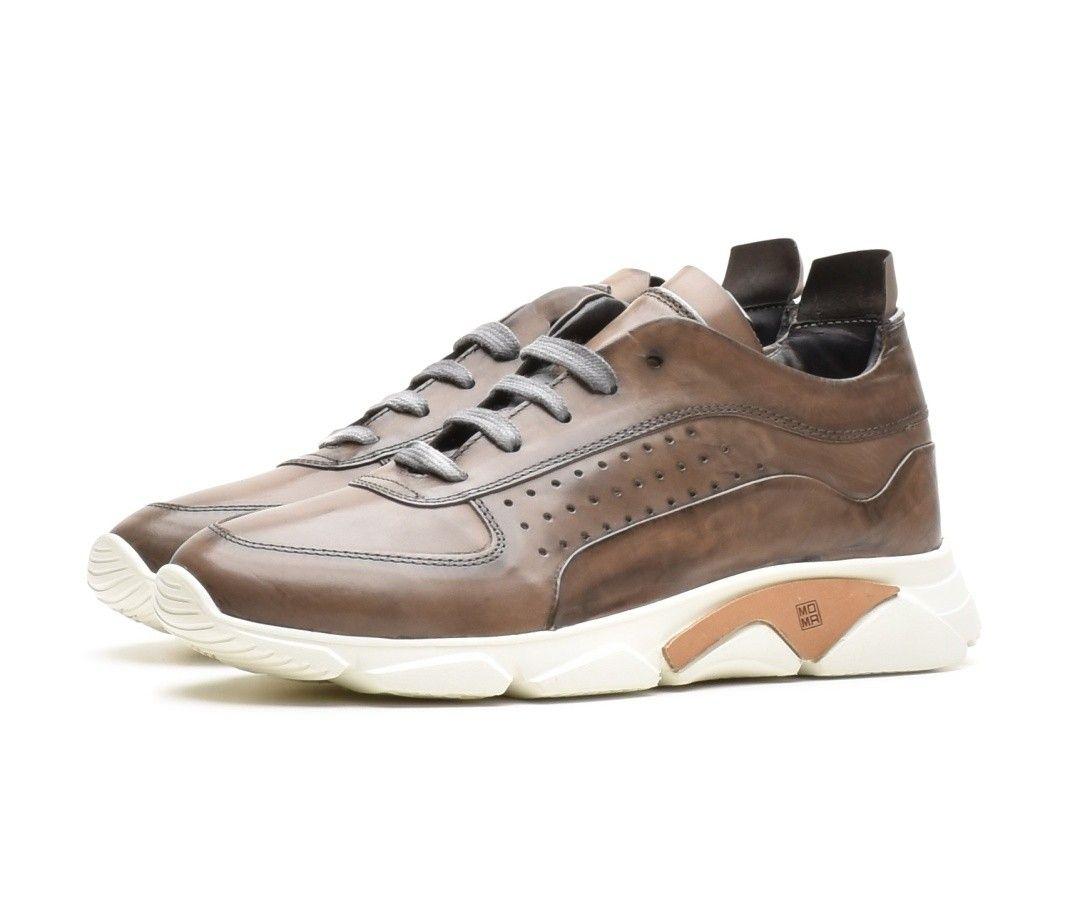 MOMA - Herren Sneaker - Allacciata Uomo Murano - Grigio