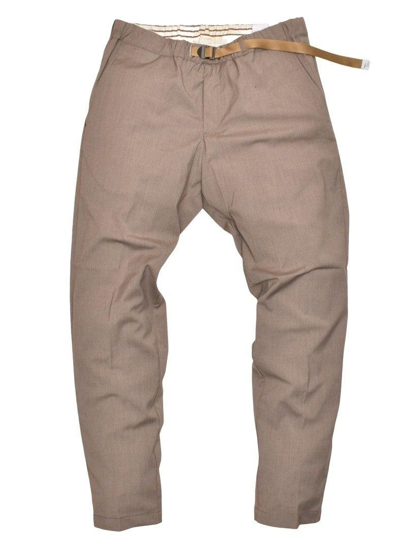WHITE SAND - Herren Hose - Chino Long Trousers - Sand