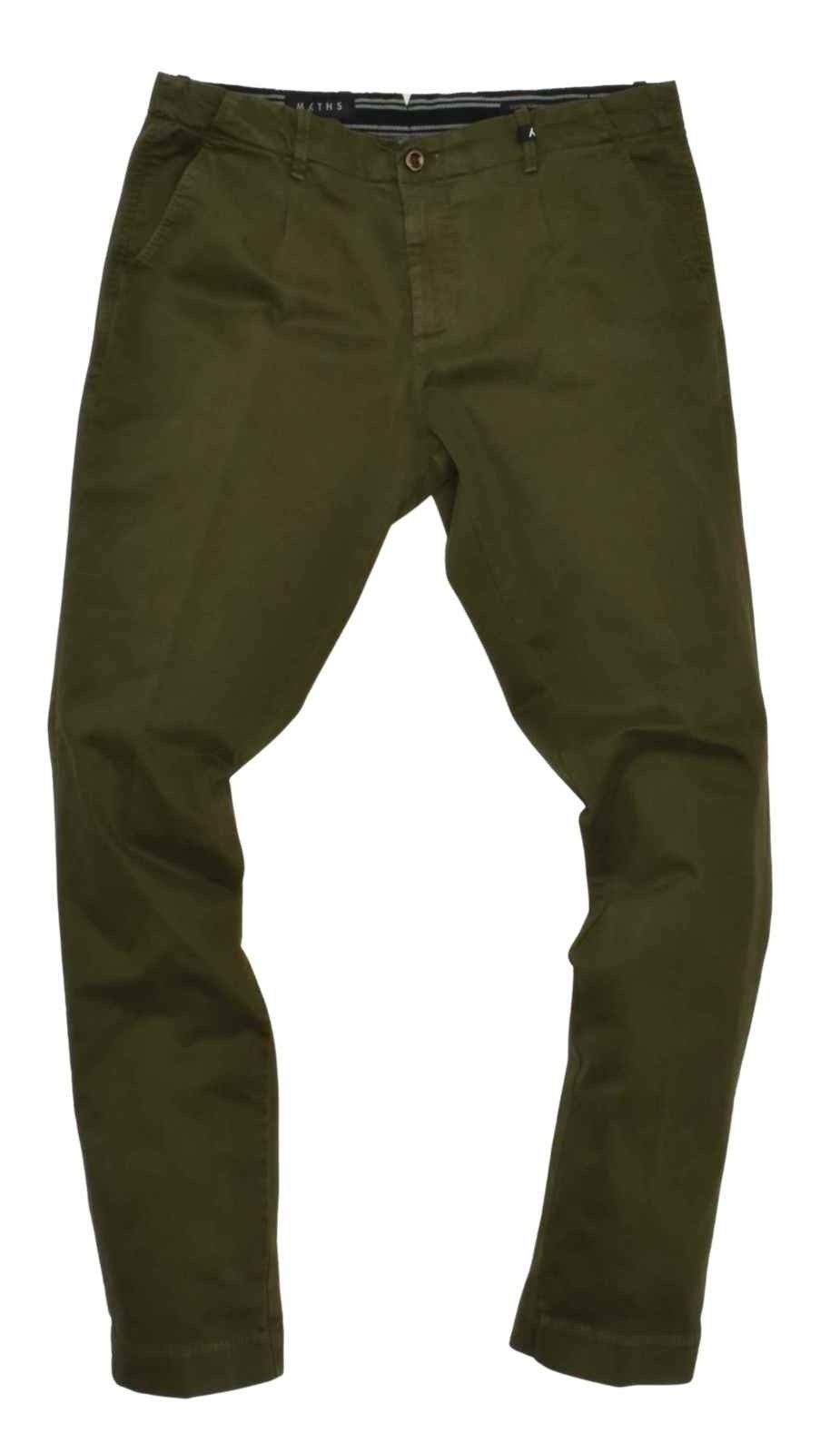 MYTHS - Herren Hose - Pantalone Lungo - Forest Green