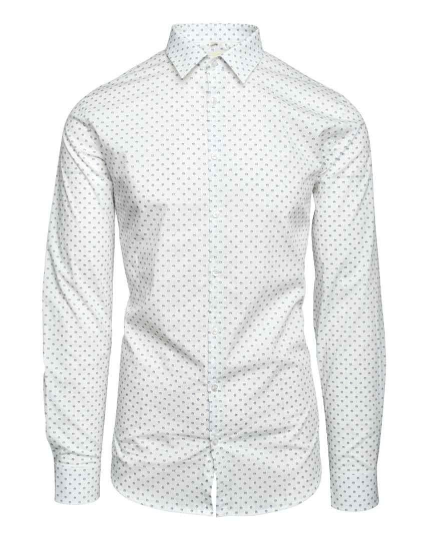 Q1 - Herren Hemd - Hemd Steve - Weiss