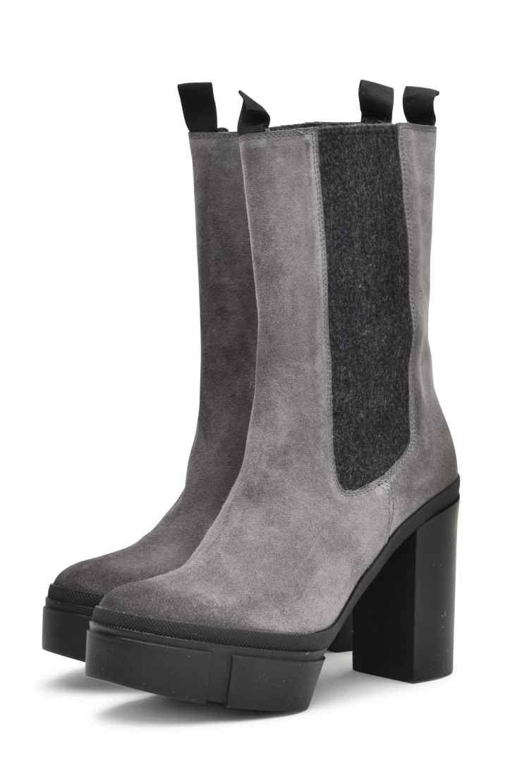 VIC MATIÉ - Damen Schuh - Stivale Sensory Tomaia - Dark Grey