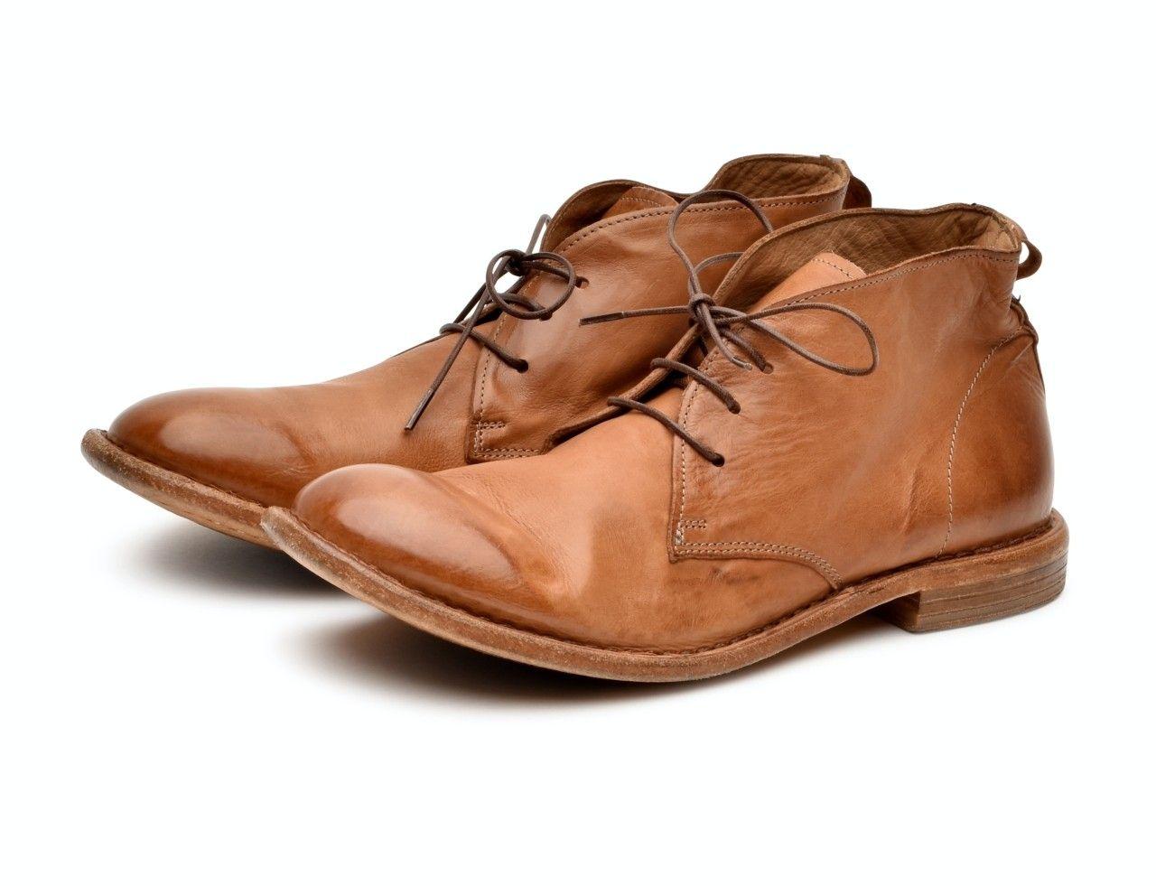MOMA - Herren Schuh - Polacco Uomo Sombrero - Cinnamon