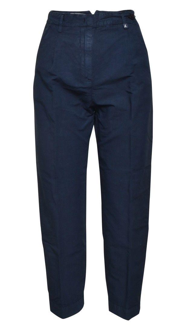 MYTHS - Damen Hose - Cropped Pants - Navy