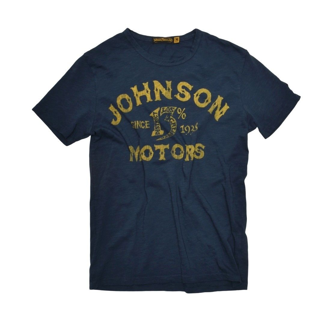 JOHNSON MOTORS - Herren T-Shirt - Jomo 13% - Dark Navy