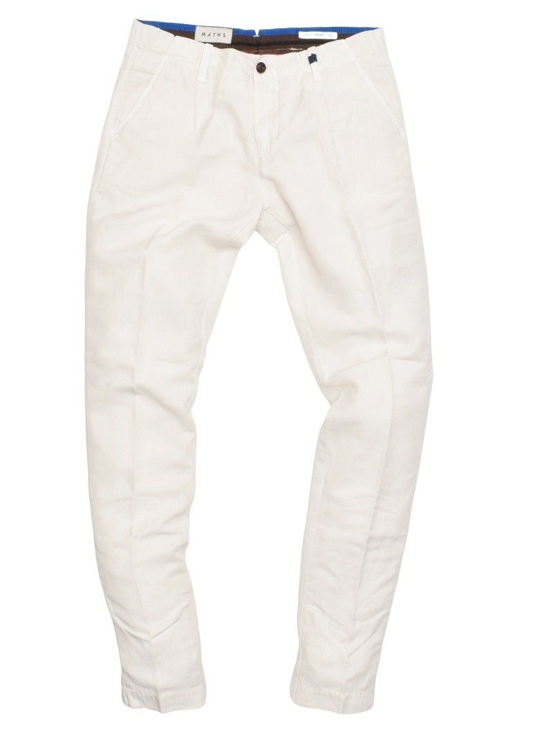 MYTHS - Herren Hose - Cotton Garment Washed Pants - Off White