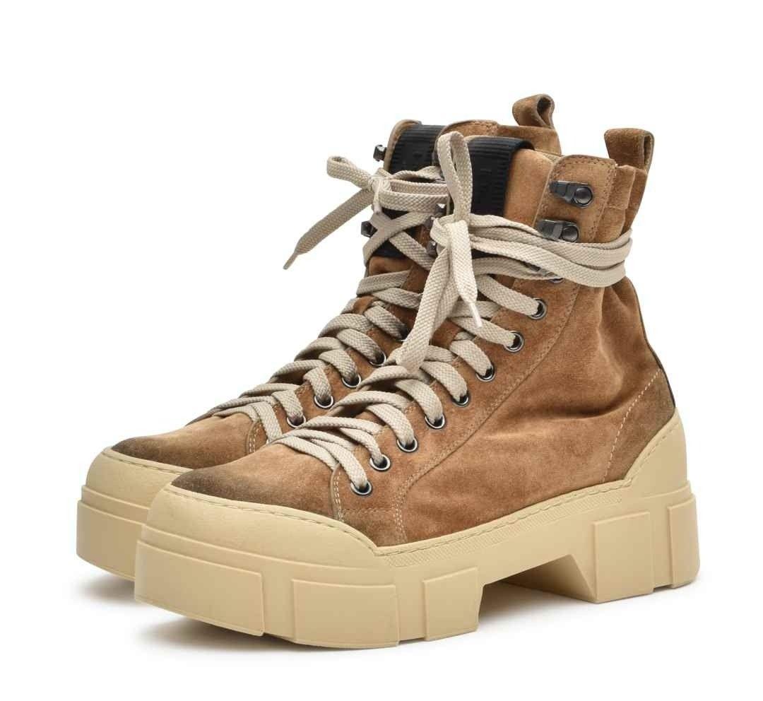 VIC MATIÉ - Damen Boot - Tronchetto Sensory Tomaia - Biscuit