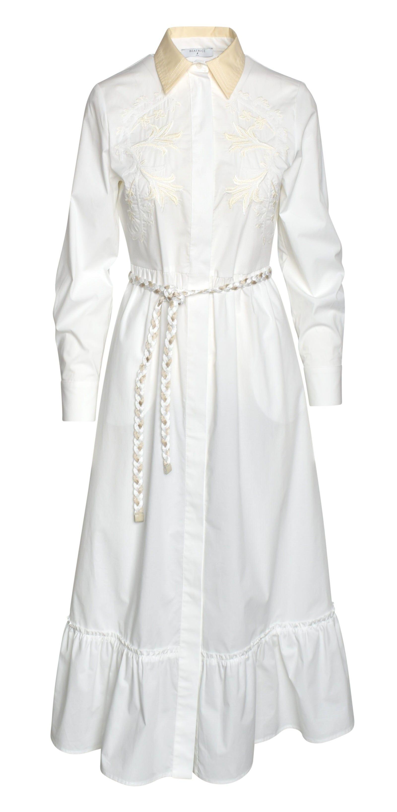 BEATRICE B - Damen Kleid - Abito White