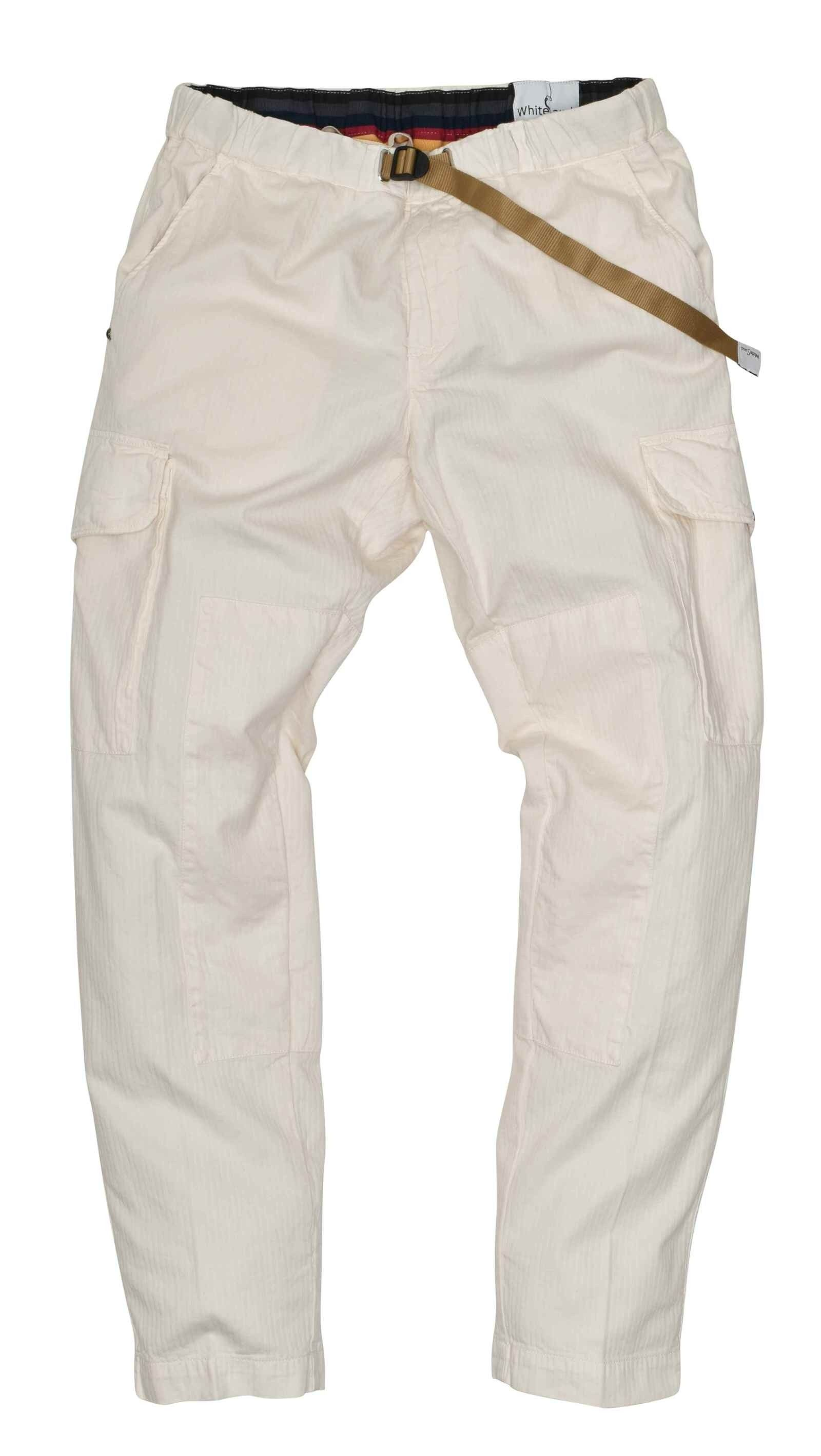 WHITE SAND - Herren Hose - Long Trousers Bruce - Bianco