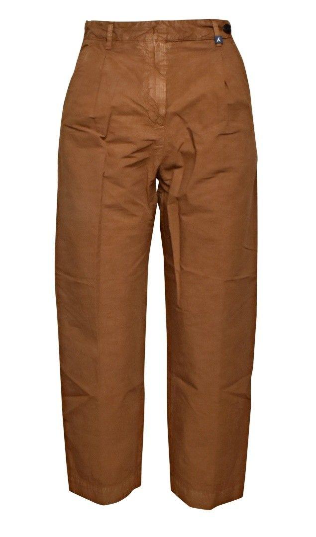 MYTHS - Damen Hose - Cropped Pants - Clay