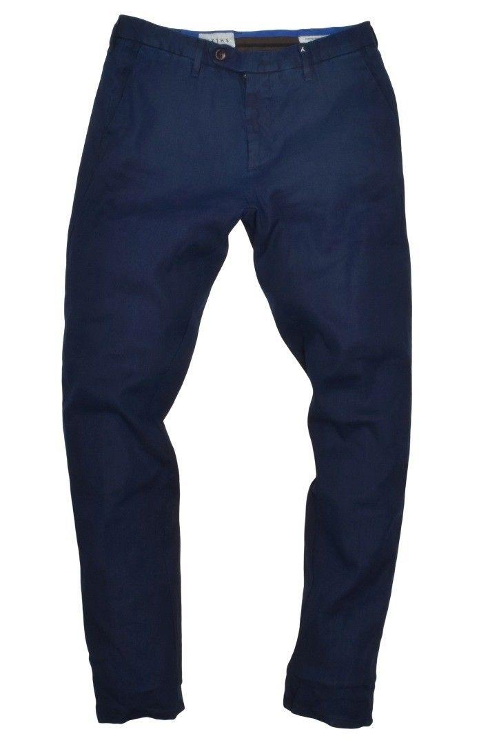 MYTHS - Herren Hose - Chino Pants - Dark Blue