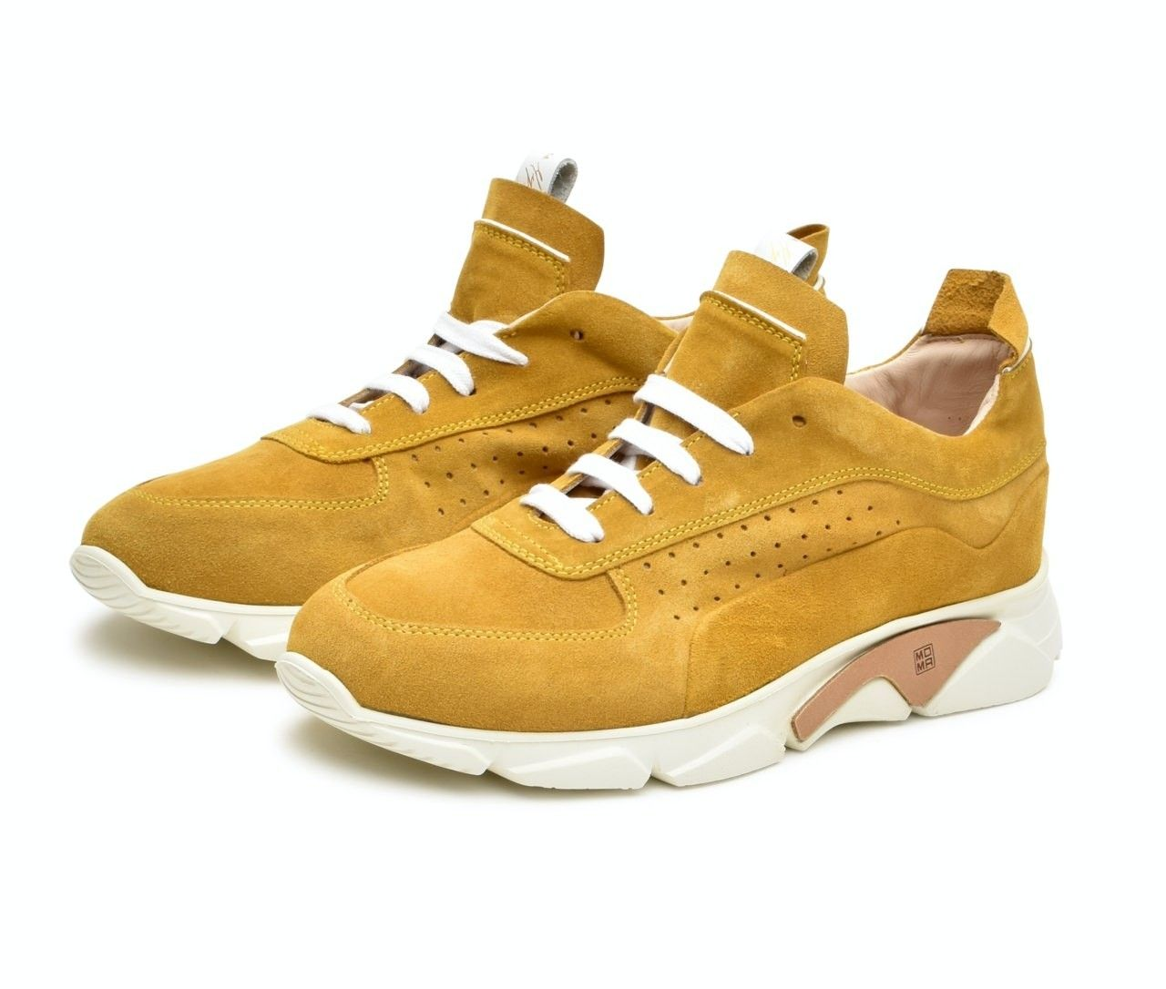 MOMA - Herren Sneaker - Allacciata Uomo Tony - Mandarino