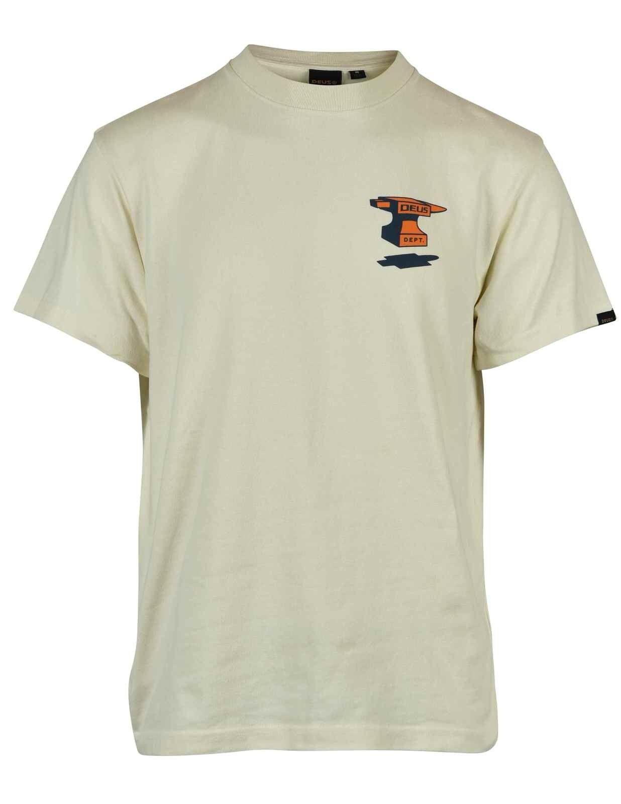 DEUS EX MACHINA - Herren T-Shirt - Physics Tee - Vintage White