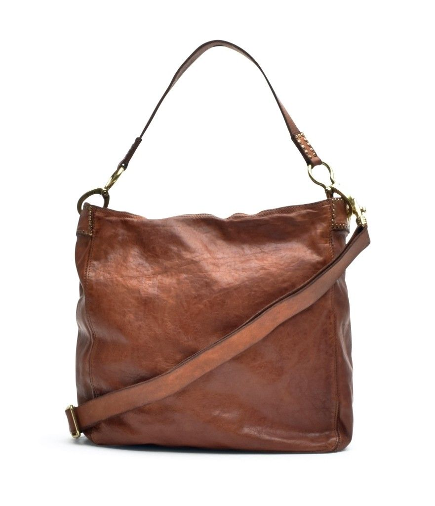 CAMPOMAGGI - Damen Tasche - Shoulder Bag - Cognac
