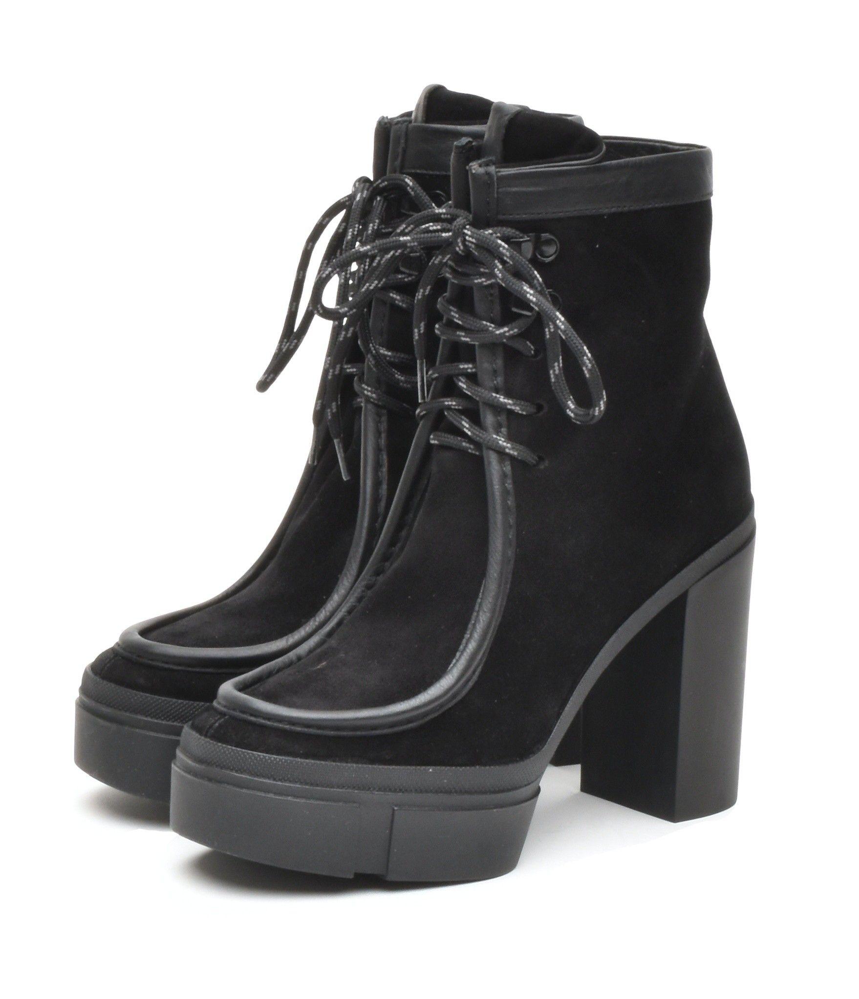 VIC MATIÈ - Damen Schuhe - Tronchetto Sensory Velvet - Black