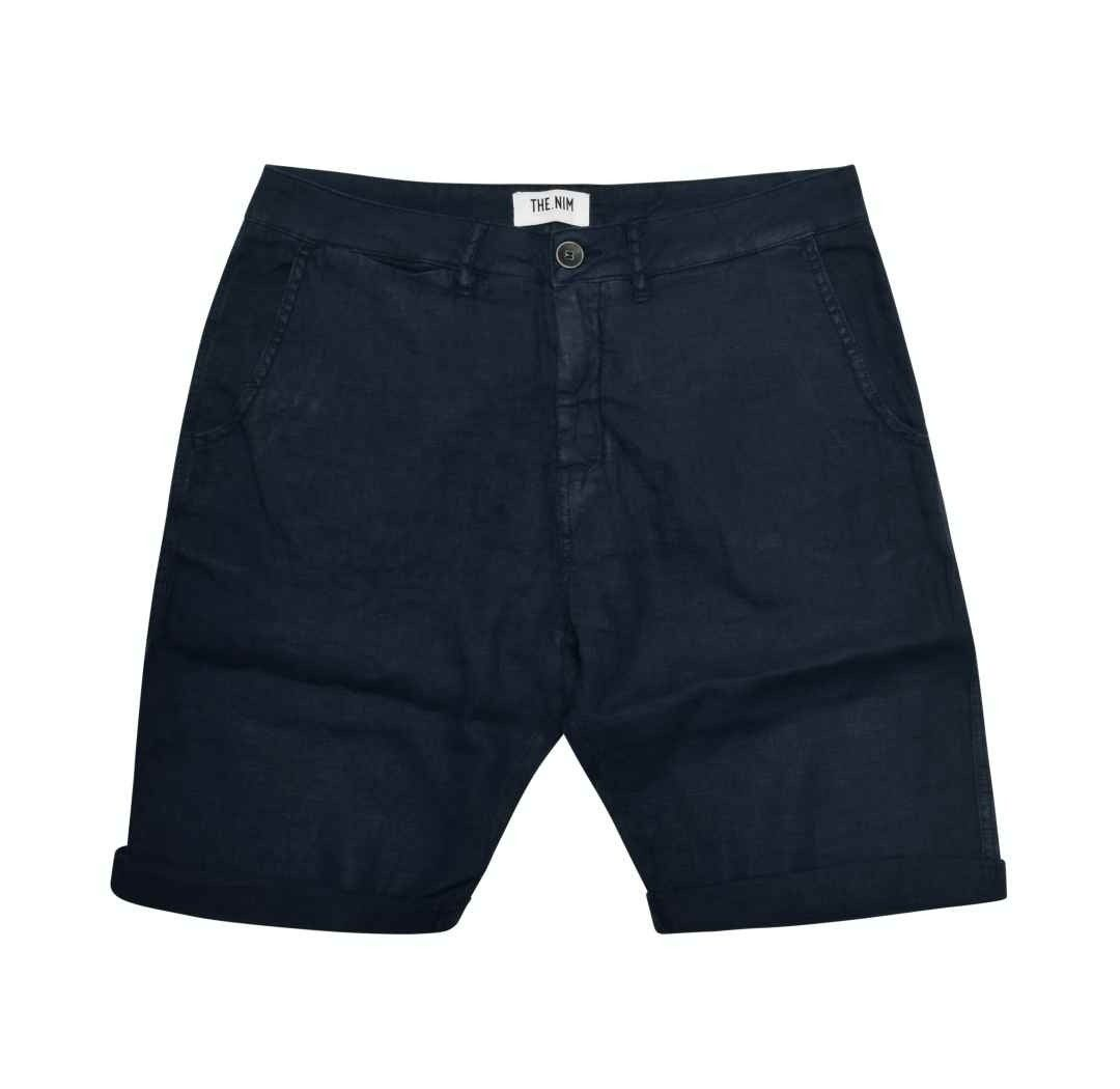 THE.NIM - Herren Shorts - Short Loose Fit - Evening Blue