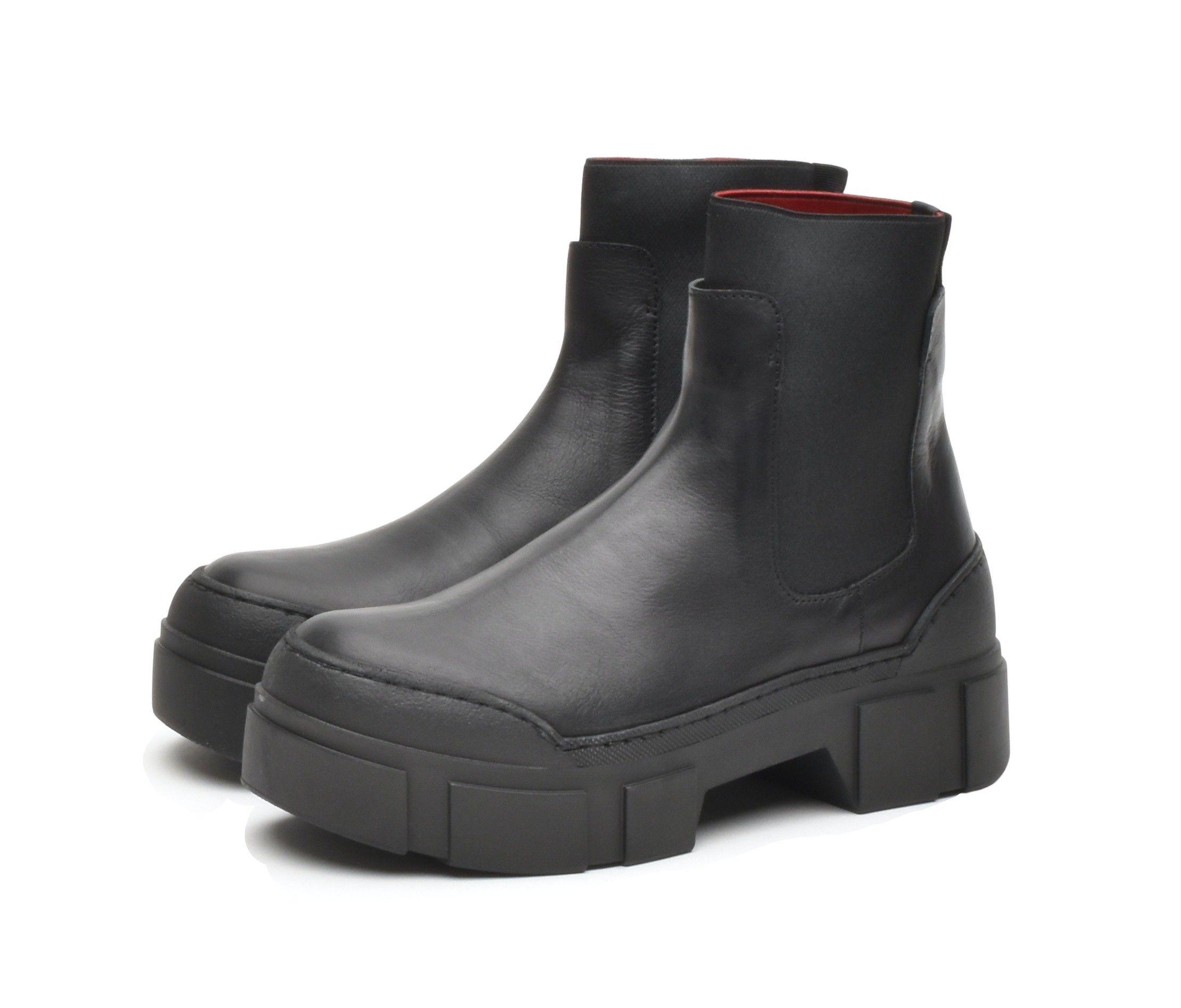 VIC MATIÉ - Damen Schuhe - Tronchetto Santos Elastico - Schwarz