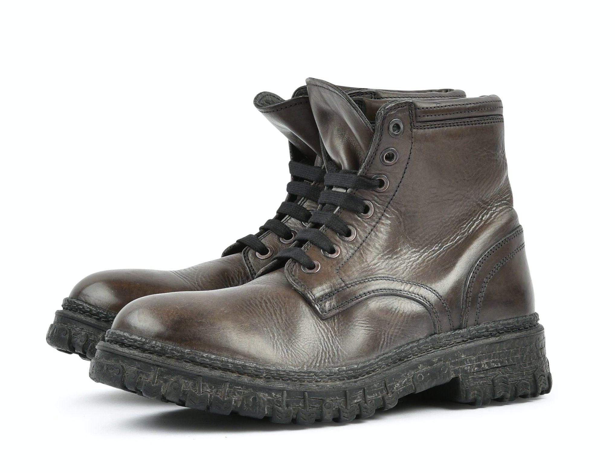 MOMA - Herren Schuhe - Polacco Uomo Toscano - Smog