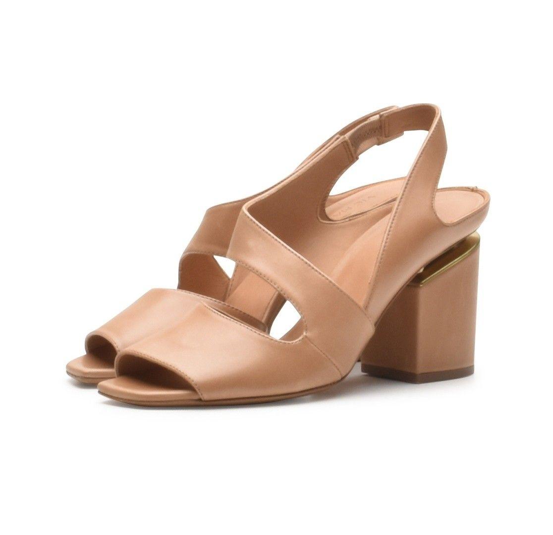 VIC MATIÉ - Damen Schuhe - Sandalo Polish - Platino