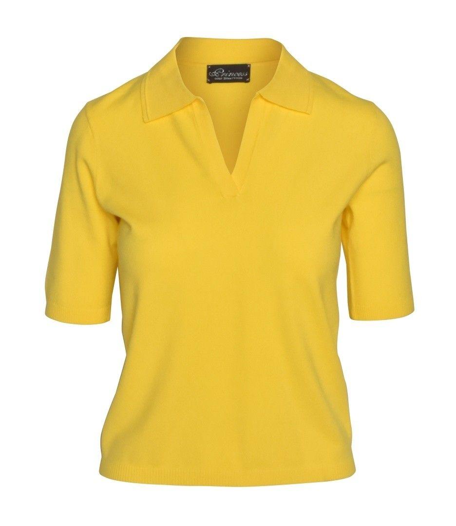 PRINCESS GOES HOLLYWOOD - Damen Poloshirt - Basic Polo - Lemon