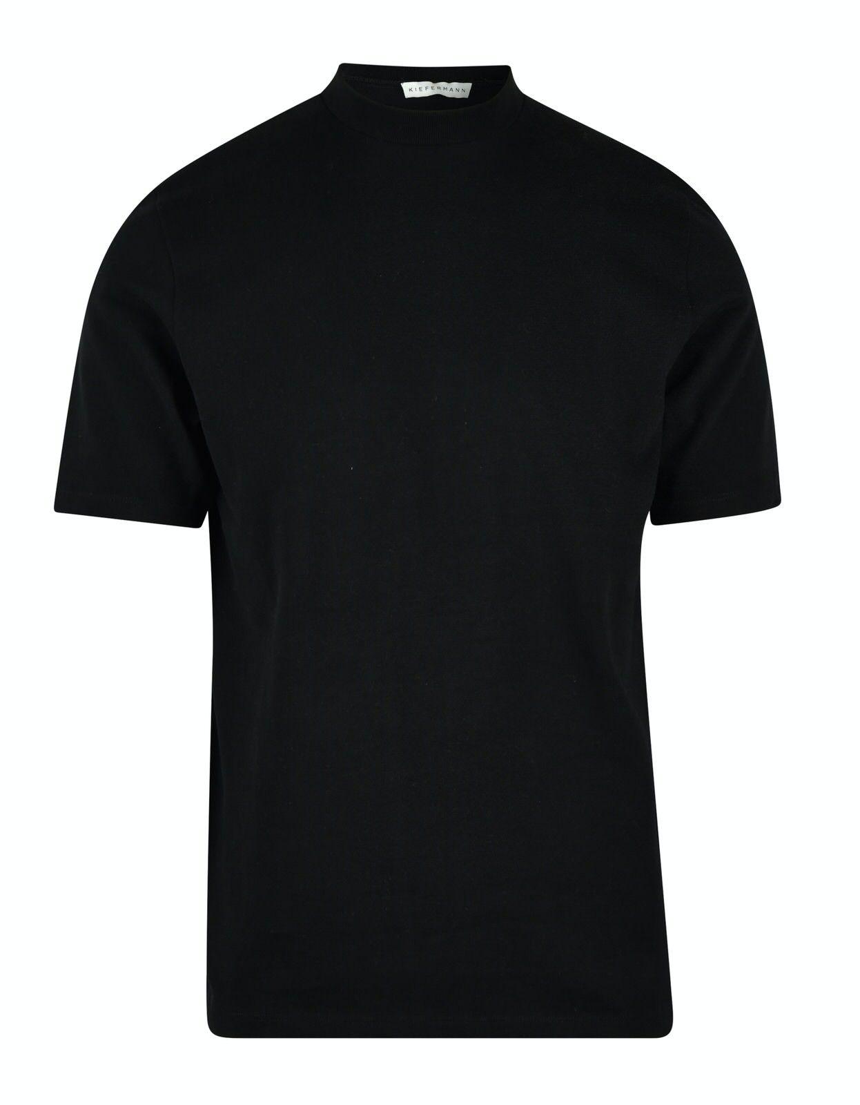 KIEFERMANN - Herren T-Shirt - Lorenz - Black