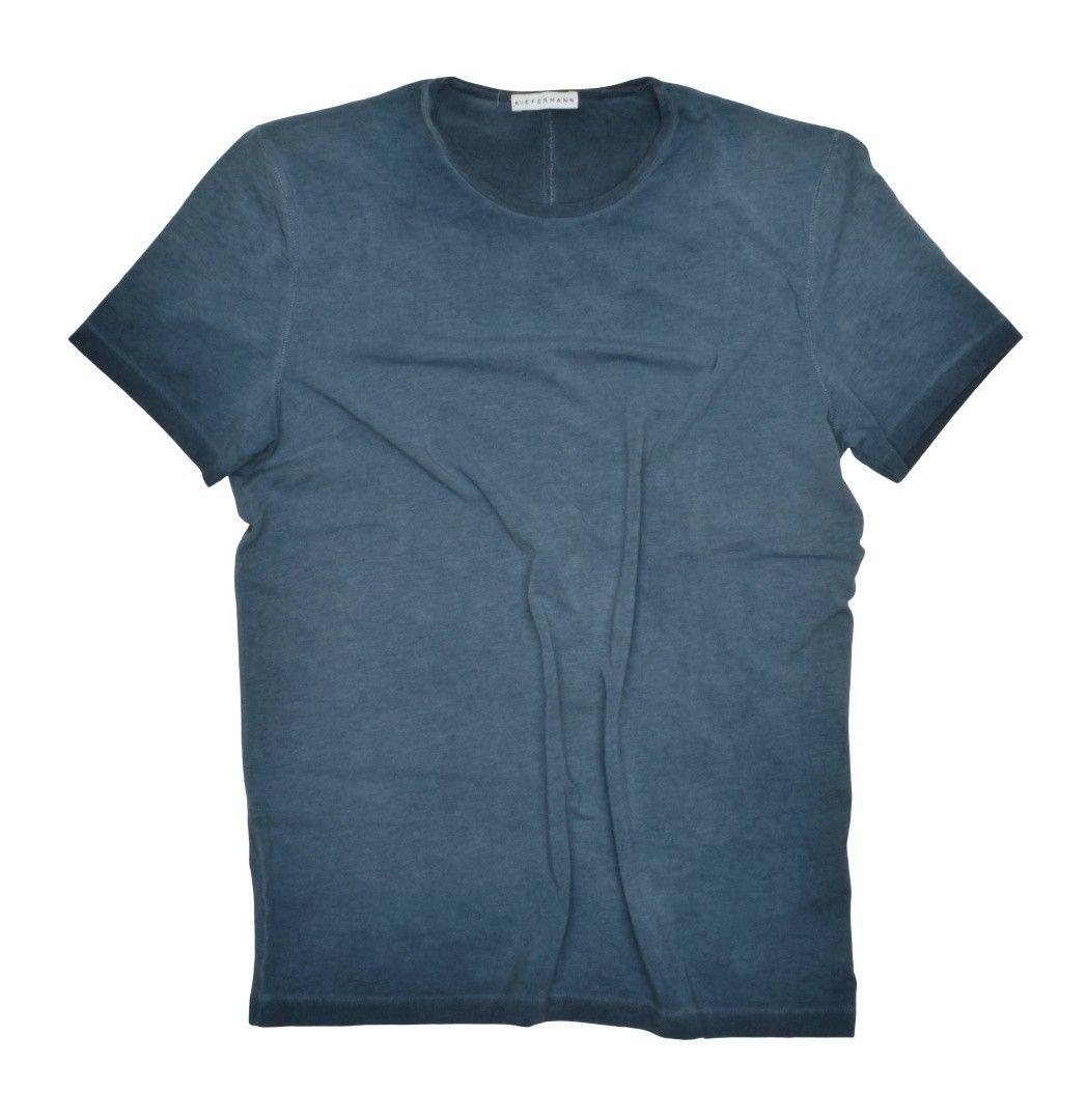 KIEFERMANN - Herren T-Shirt - Robin - Blue Petrol