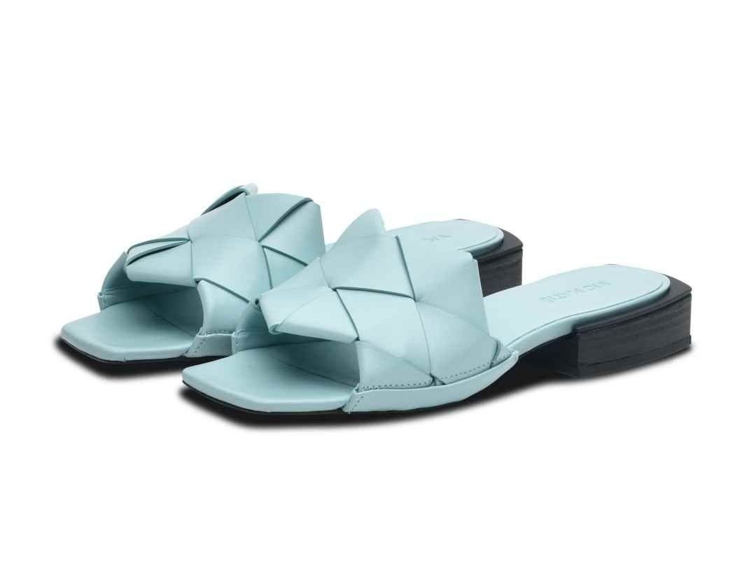 VIC MATIÉ - Damen Sandale - Sandalo Gangee - Water Blue