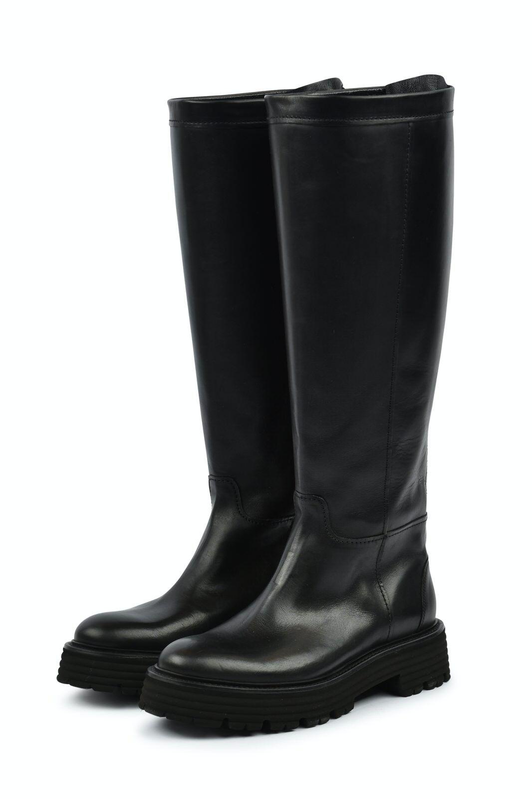 KENNEL & SCHMENGER - Damen Stiefel - Power Premium Calf - Schwarz