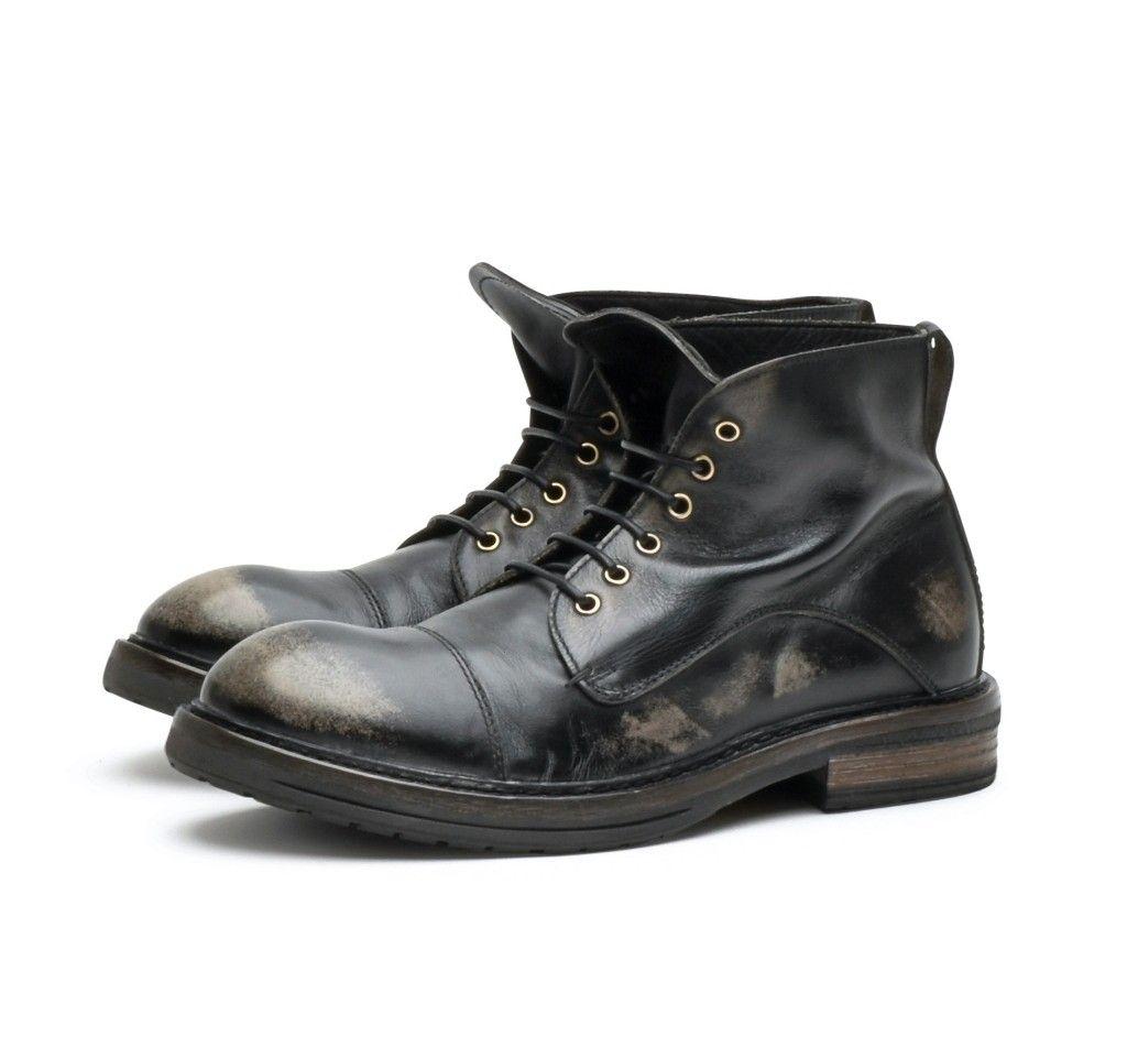 MOMA - Herren Schuh - Polacco Uomo - Nevada Peltro