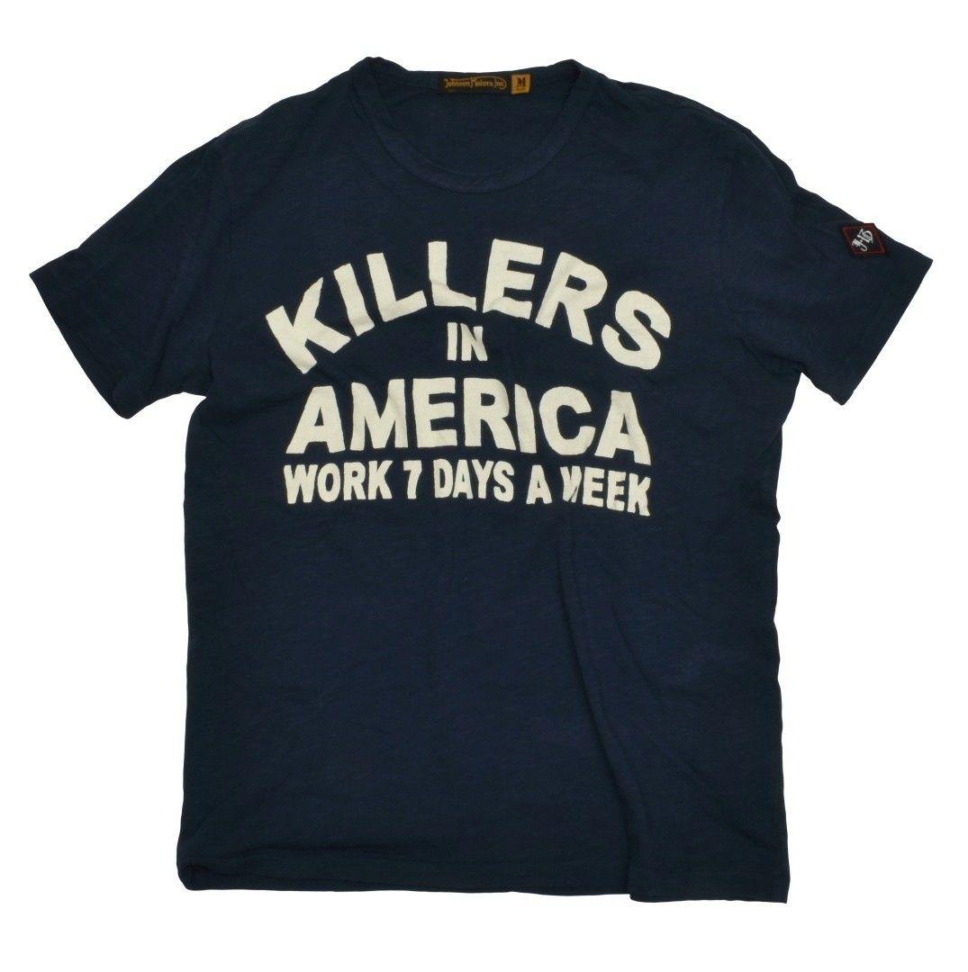 JOHNSON MOTORS - Herren T-Shirt - Killers - Dead Navy