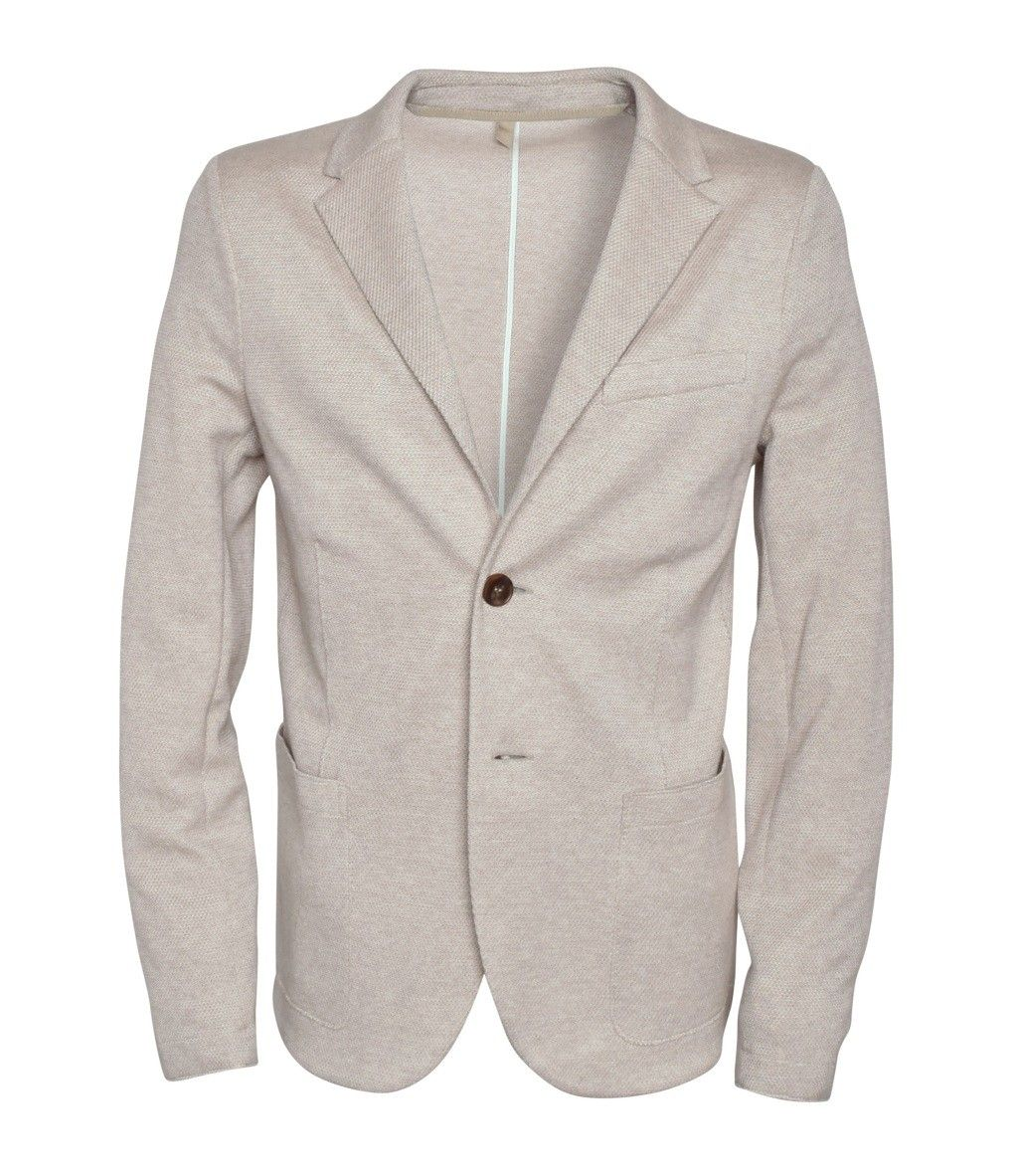 HARRIS WHARF LONDON - Herren Blazer - Men 2B. Satorial Blazer - Ecru