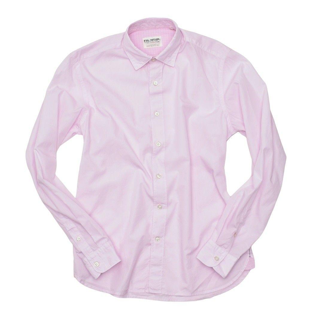 FIL NOIR - Herren Hemd - Bergamo HBD - Rosé