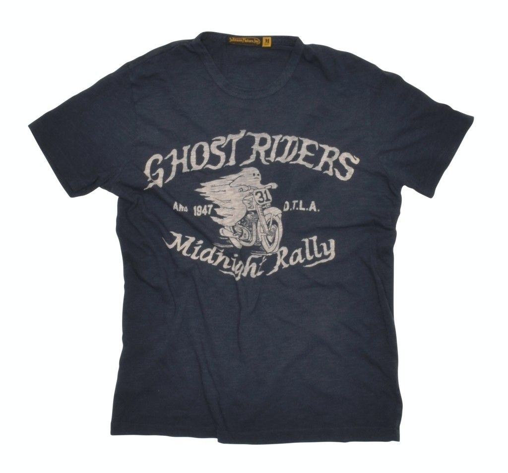 JOHNSON MOTORS - Herren T-Shirt - Ghost Riders - Vintage Black
