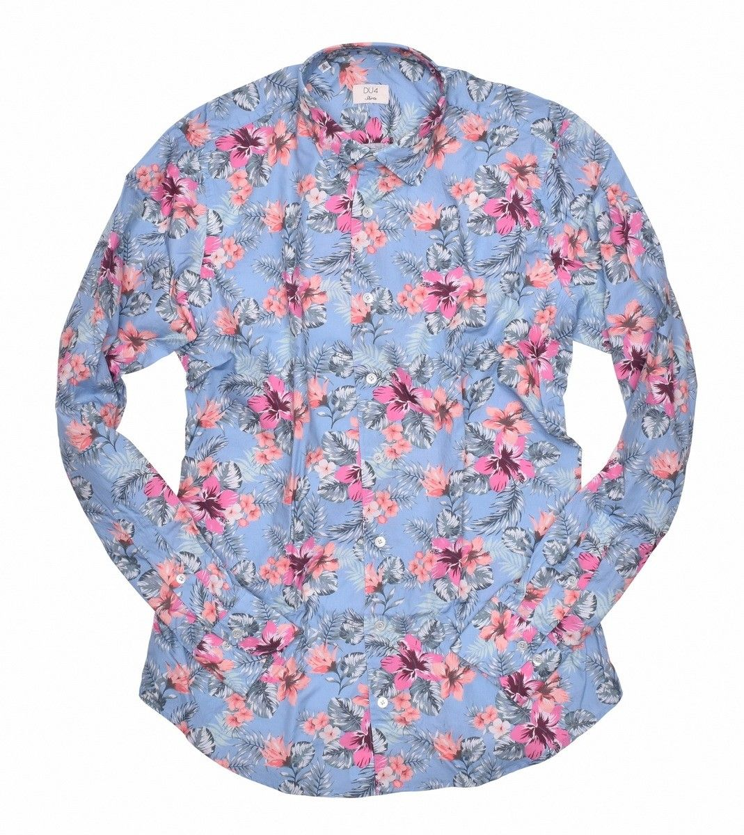DU4 - Herren Hemd - Kay SF SP - Hawaii Flower