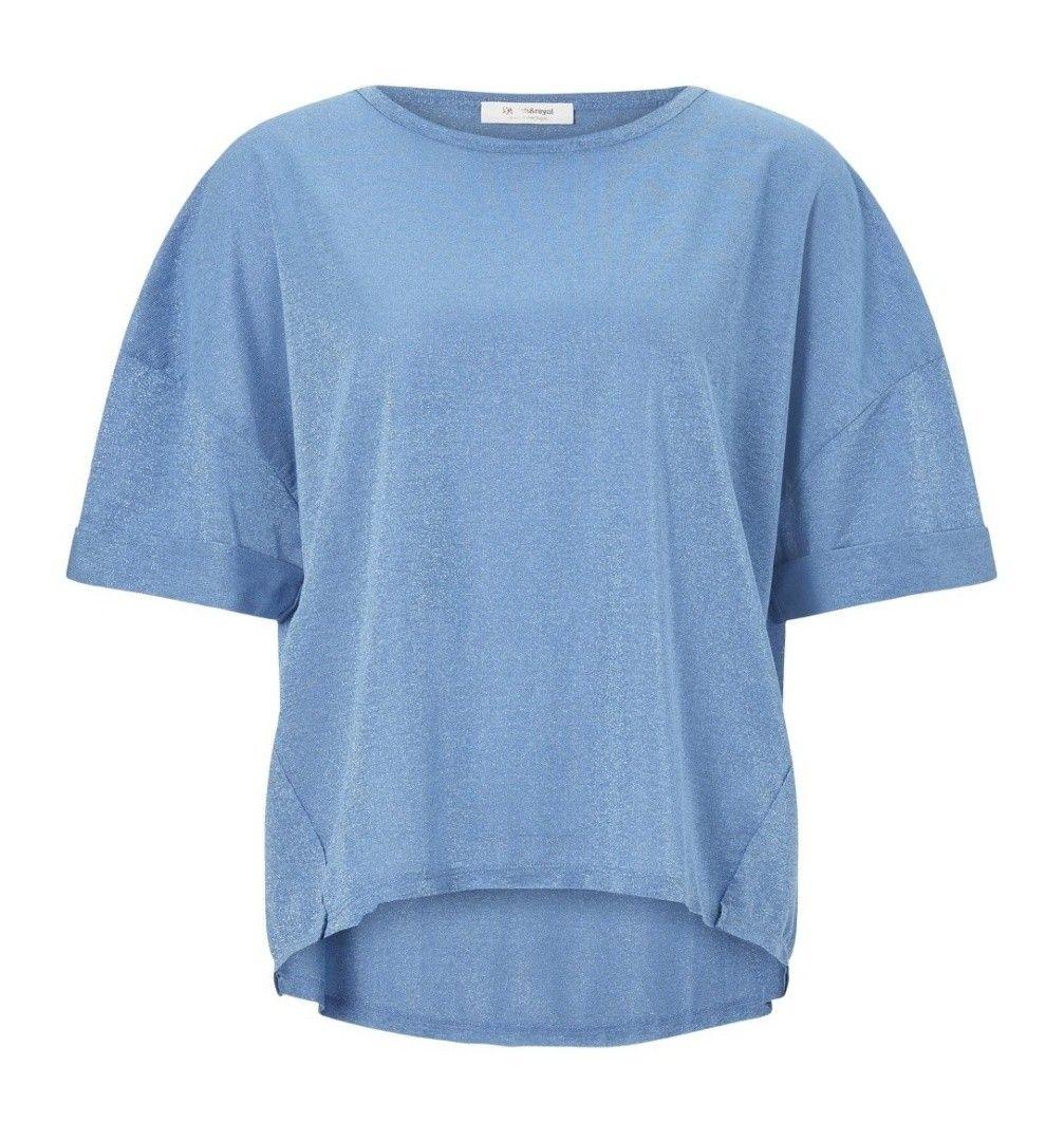 RICH & ROYAL - Damen T-Shirt - Lurix Spring Blue