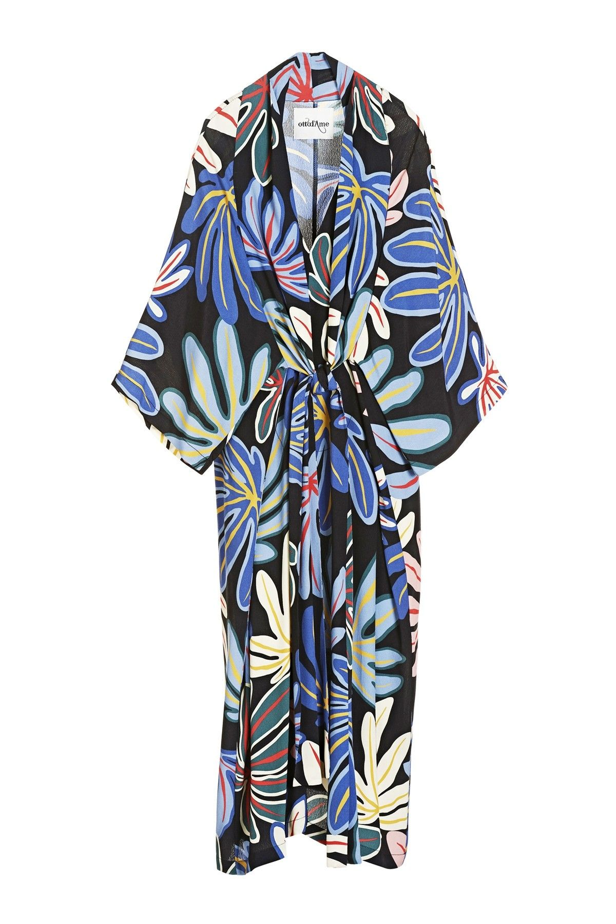 OTTOD'AME - Kleid - Abito Dress - Var. Unica Blu
