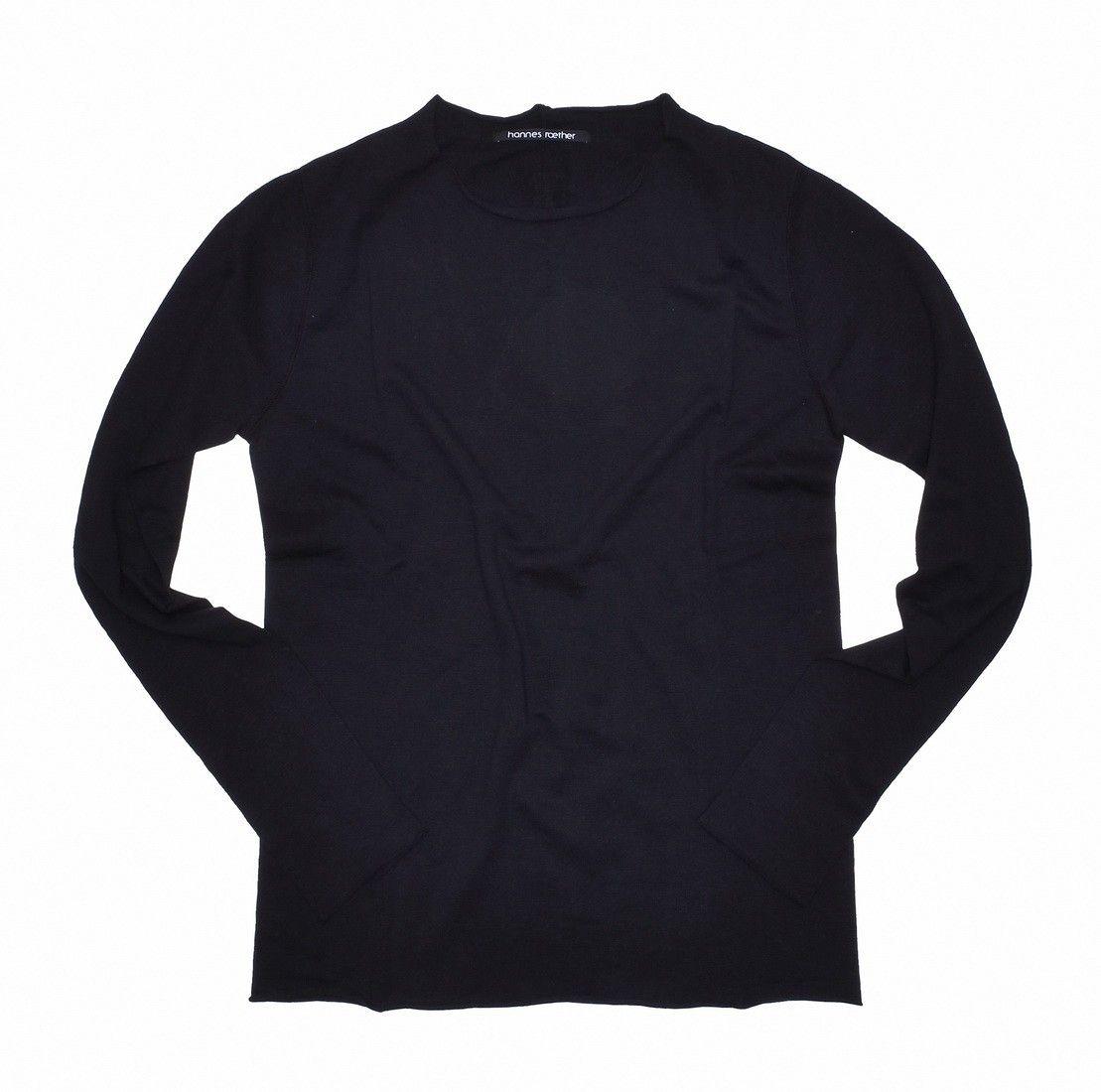 HANNES ROETHER - Herren Pullover Finte - Black