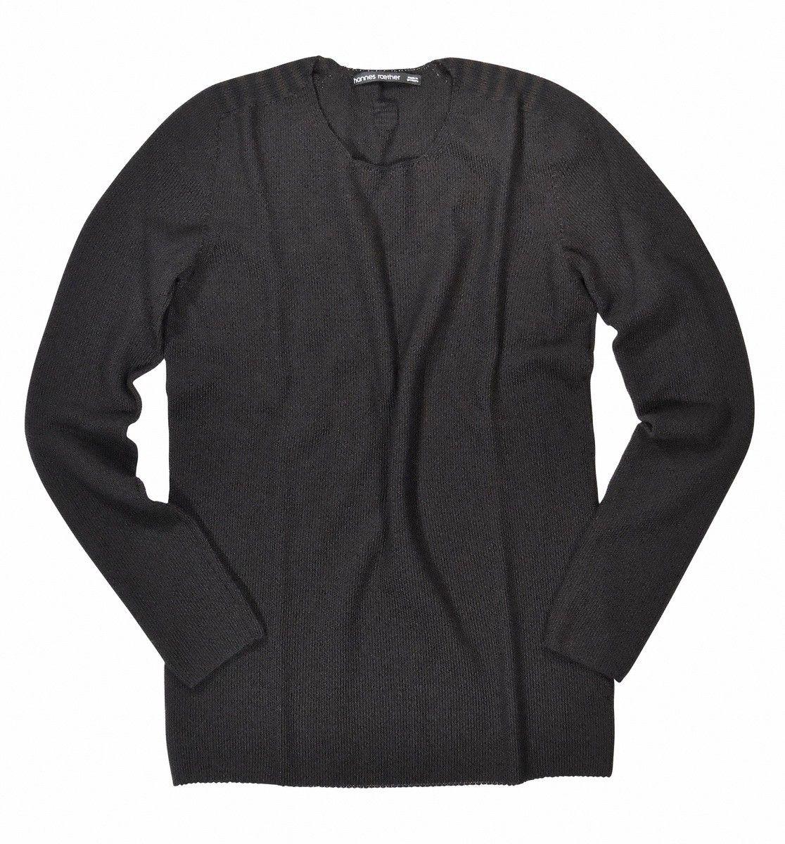 HANNES ROETHER - Herren Pullover - Agile - Black/Farn