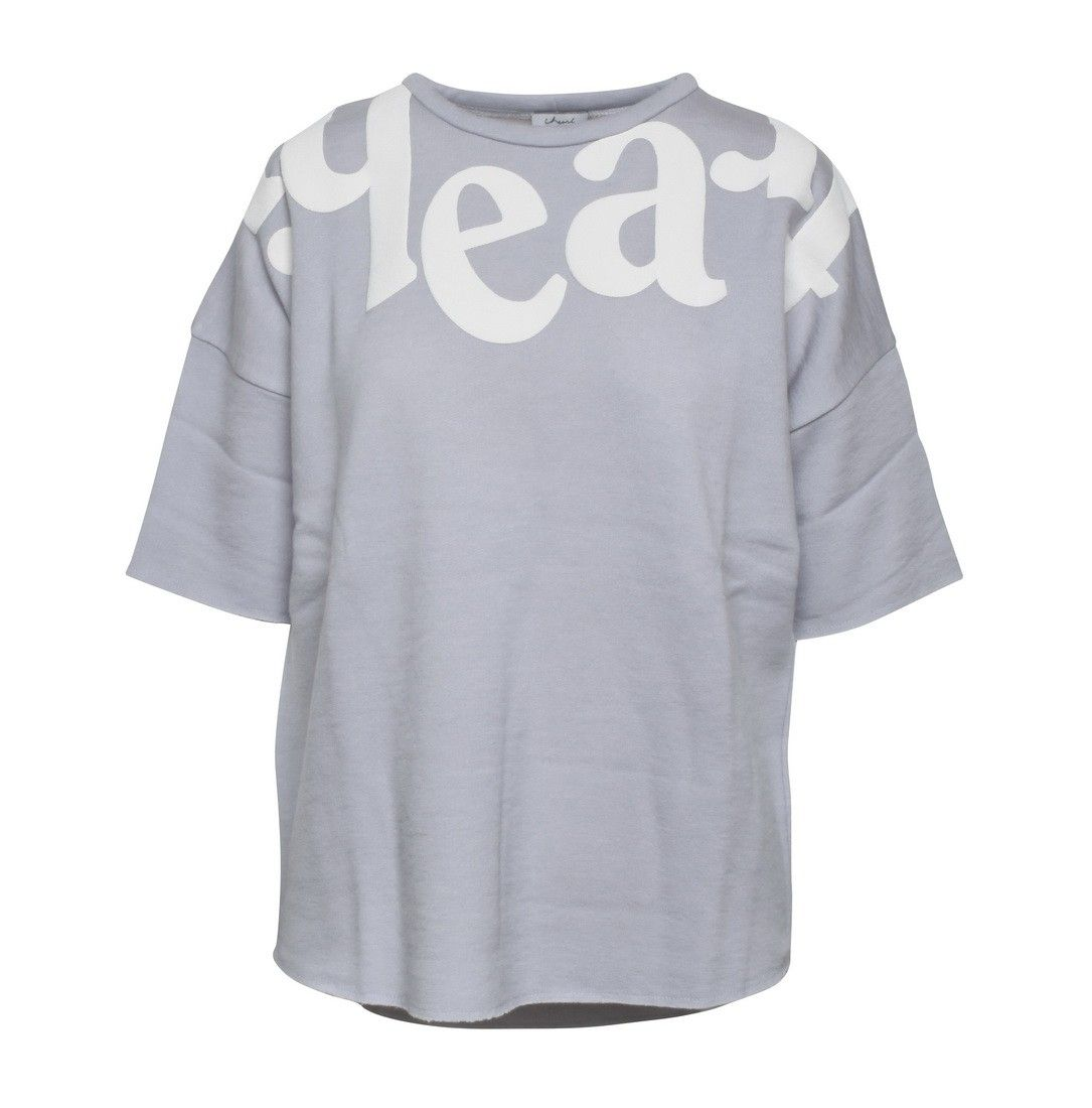 IHEART -  Damen Sweater -  Maxi Silver