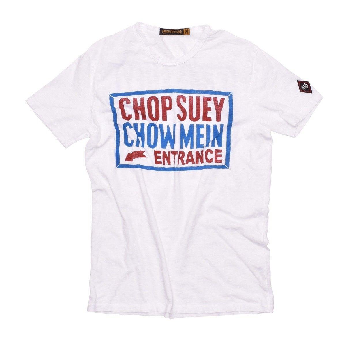 JOHNSON MOTORS - Herren T-Shirt - CHOP SUEY - Optic White
