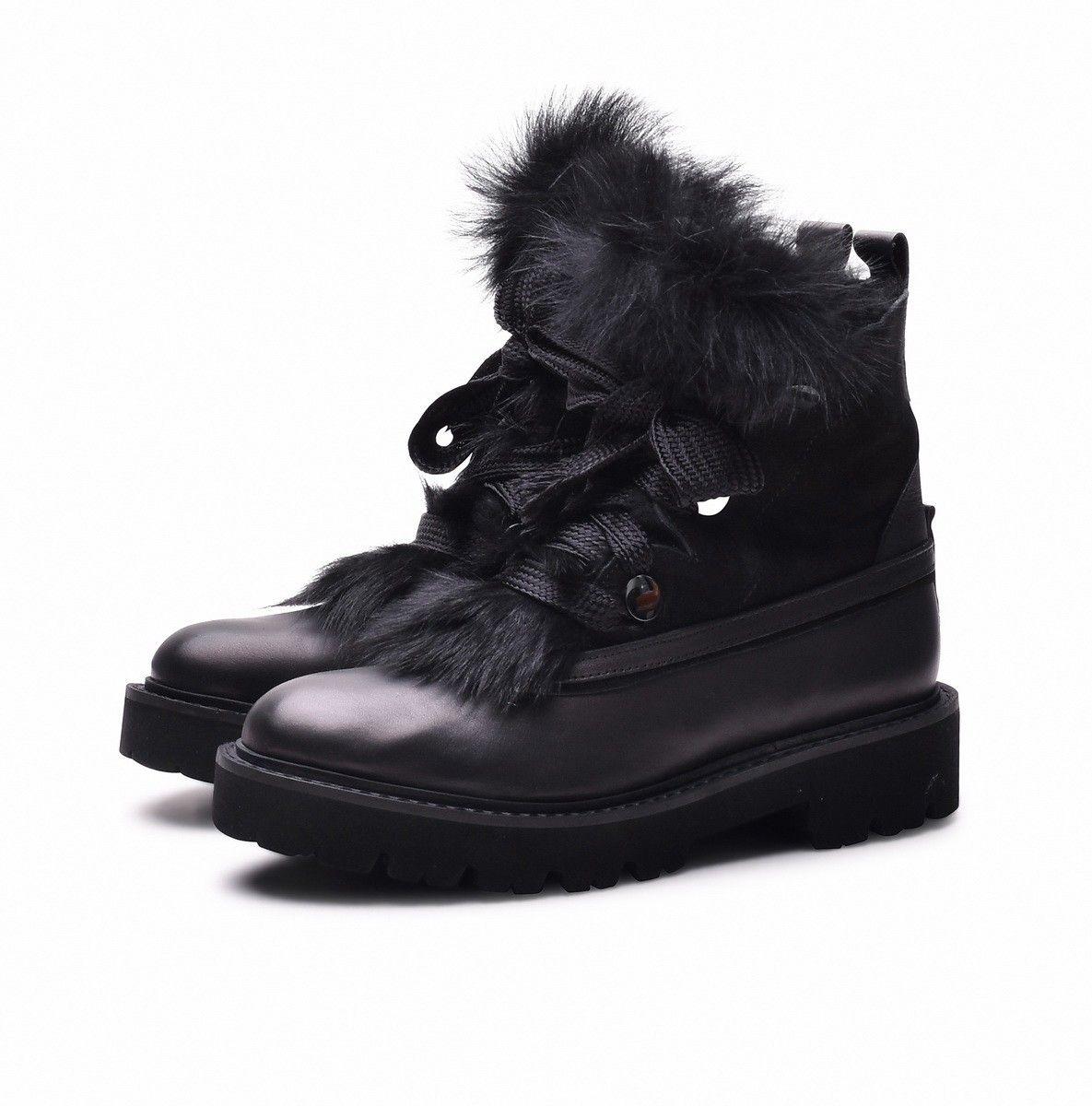 KENNEL & SCHMENGER - Damen Boot - Joe India Calf/Soed - Black