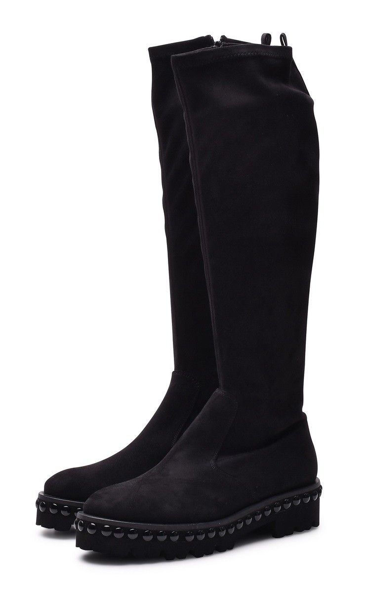 KENNEL & SCHMENGER - Damen Stiefel - Nia Vellutato Stretch - Black