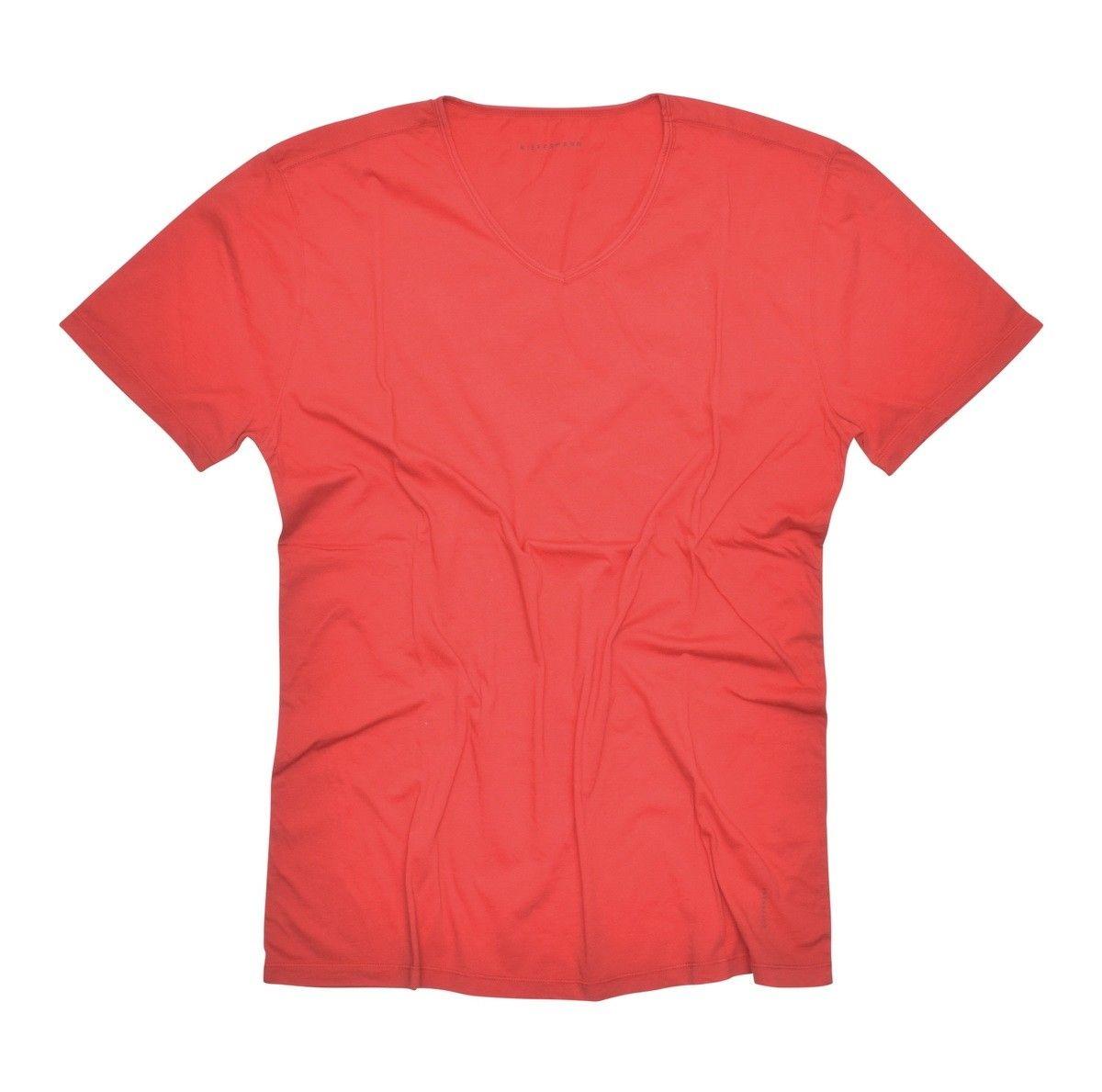 KIEFERMANN - Herren T-Shirt - DARIUS - Firey Red -