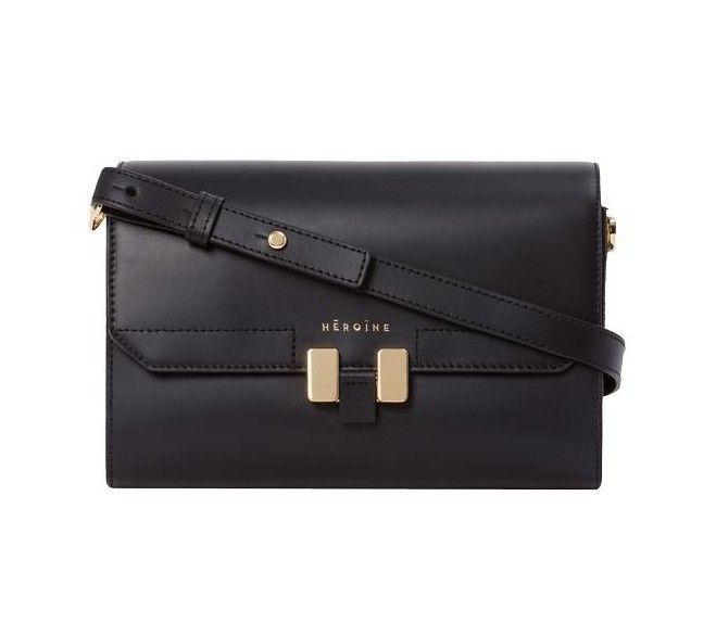 MAISON HÉROÏNE - Damen Tasche - Lilia Tablet Mini - Black Lavagna