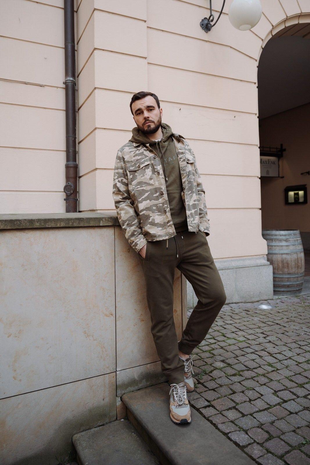 BELSTAFF - Herren Overshirt - Recon Camo Overshirt - Tarp