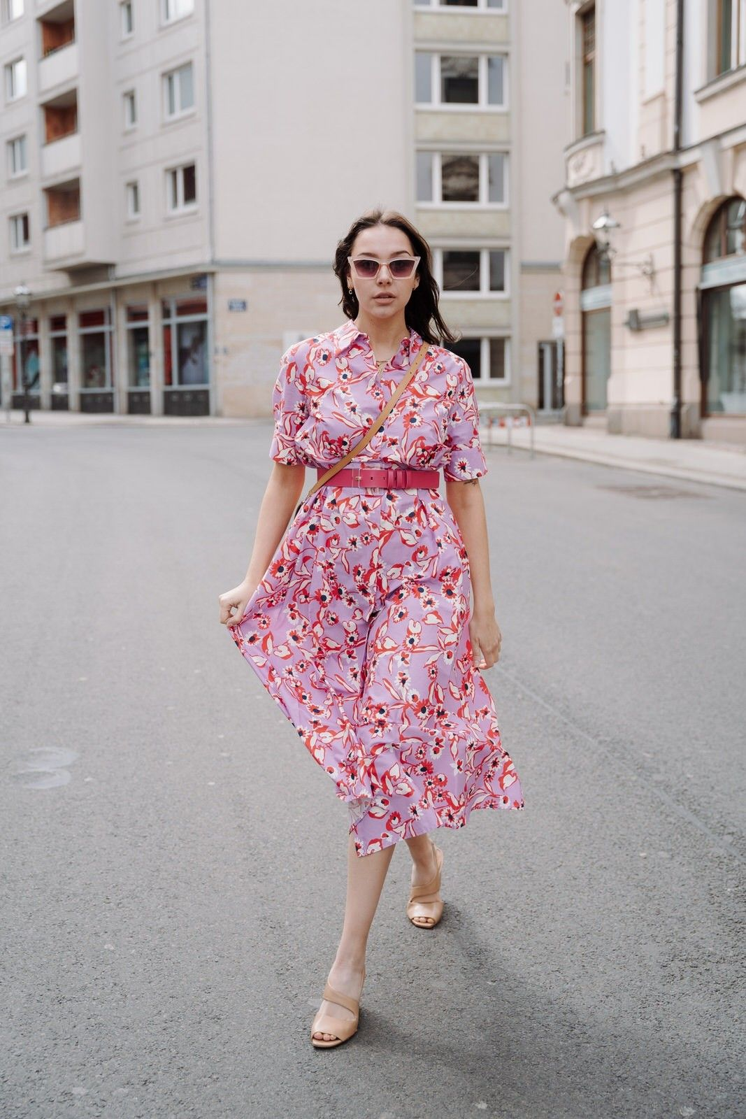 OTTOD´AME - Damen Kleid - Abito - Dress - Lavanda