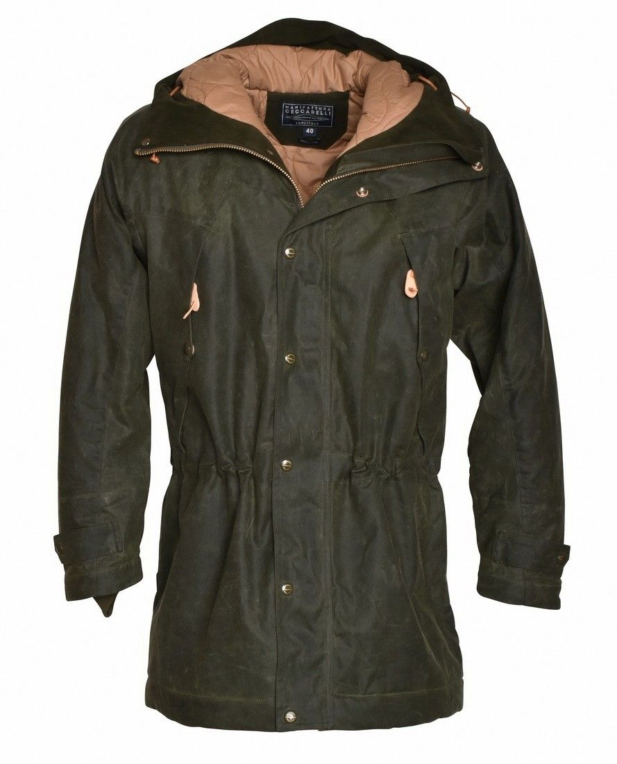 MANIFATTURA CECCARELLI - Herren Jacke - Long Mountain JKT - Dark Green