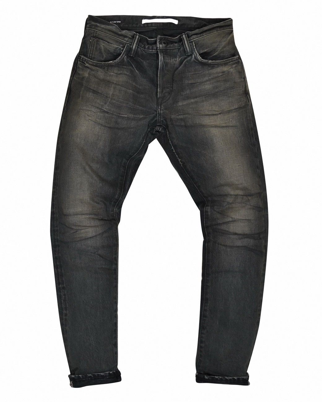 MASTERCRAFT UNION - Herrenjeans - Slim Taper 13,5 oz. - Black x Black