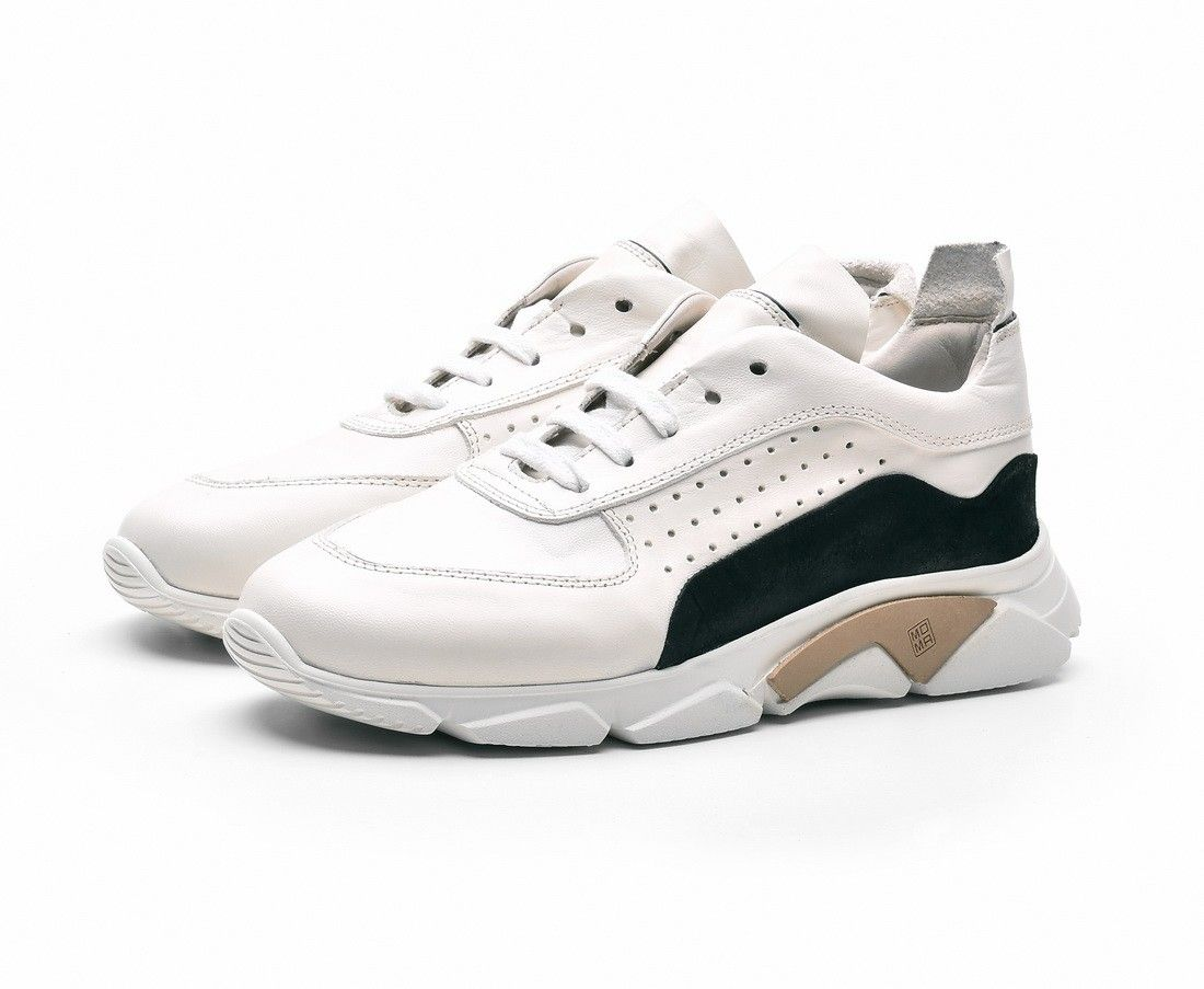 MOMA - Damen Schuhe - Florence 32901-IA - Bianco
