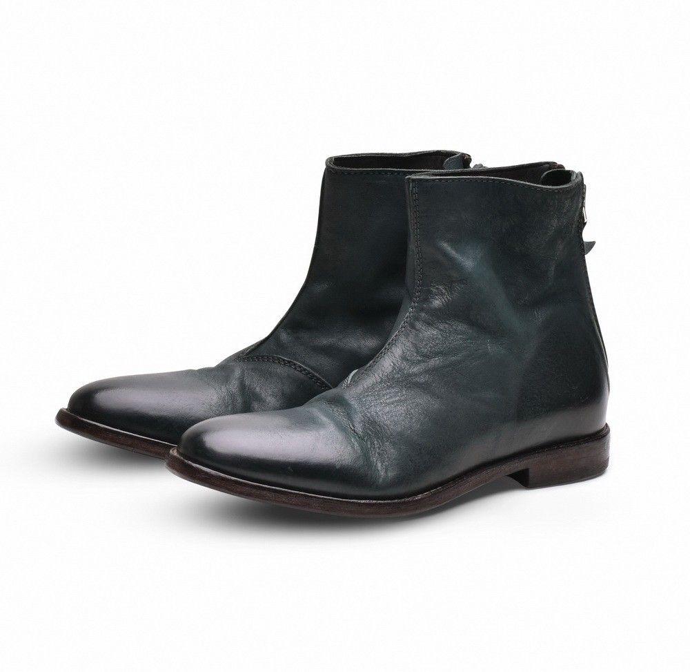 MOMA - Damen Schuhe - Stiefelette Bandolero Londra - Flaschengrün
