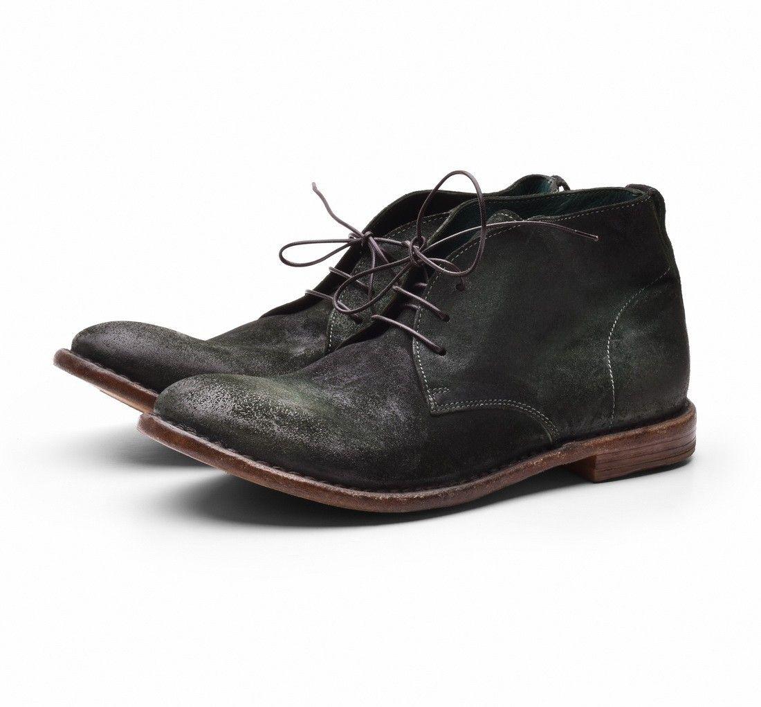 MOMA - Herren Schuhe - Crosta 22902-SE - Verde